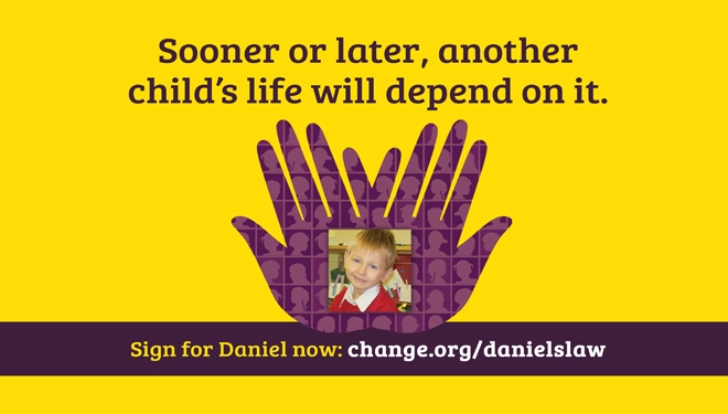 100K sign for Daniel's Law